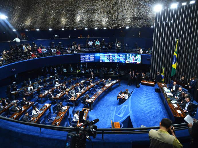Sessão no Senado Federal (Antonio Cruz/Agência Brasil)