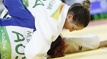 Mayra Aguiar é uma das favoritas de sua categoria (até 78kg) à conquista de medalha
