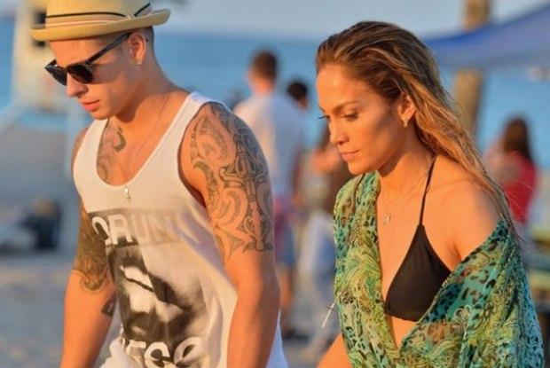 Jennifer Lopez e namorado