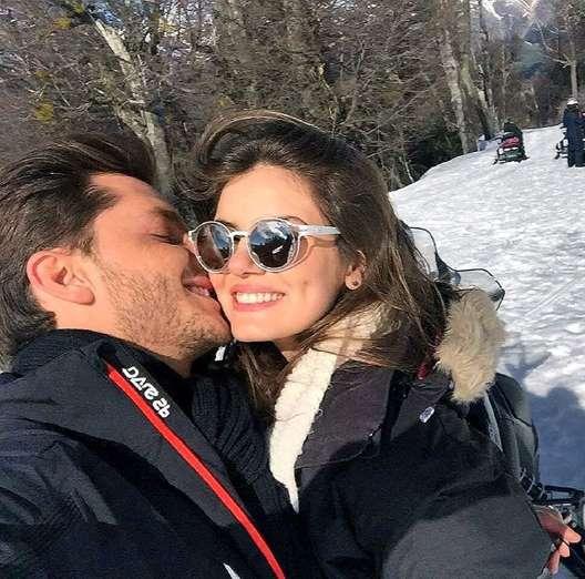 O ator postou foto em clima de romance na Argentina nesta segunda-feira (29)