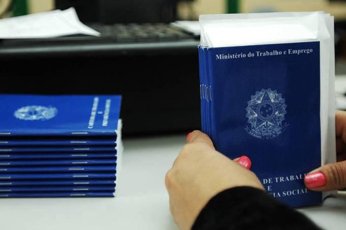 Em julho, o país perdeu 94.724 vagas formais de emprego, de acordo com o Caged (Reinaldo Canato/VEJA/VEJA)