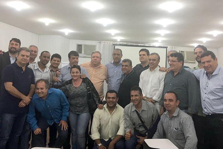 representantes de 21 partidos com Neilando Pimenta