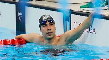 Daniel Dias conquista novamente o ouro na classe S5: brasileira fecha prova com larga vantagem