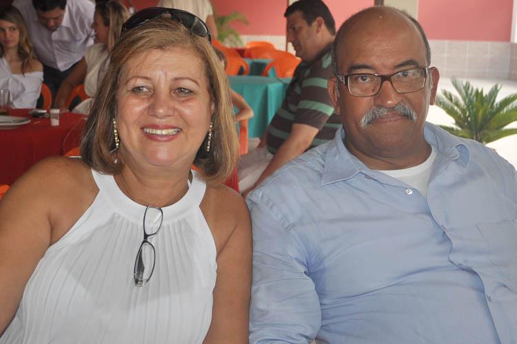 Eliana Amaral e o esposo, o médico Jorge Medina (foto: Paraíba)