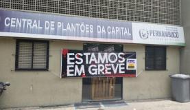 Funcionários da Central de Plantões da Capital entraram em greveSumaia Vilella/Agência Brasil