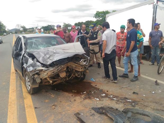 Vítima chegou a ser encaminhada para um hospital de Ipatinga, mas já não apresentava sinais de vida (Foto: Divulgação/Corpo de Bombeiros)