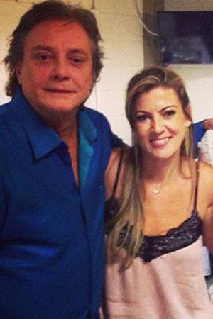 Fábio Júnior e Maria Fernanda Pascucci estão juntos há quatro anos. (Foto: Instagram/Reprodução)