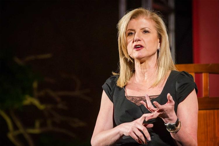 Arianna Huffington  é fundadora do Huffington Post, um dos mais audaciosos projetos de jornalismo online da atualidade