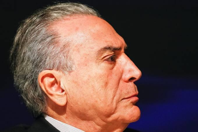 O presidente da República, Michel Temer durante cerimônia de abertura da Rio Oil & Gas 2016 - 24/10/2016 (Beto Barata/PR)