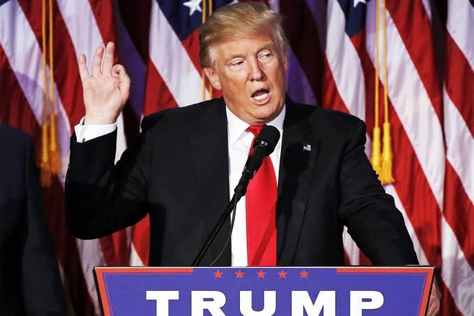 O bilionário Donald Trump foi eleito o novo presidente dos EUA (Mike Segar/Reuters)