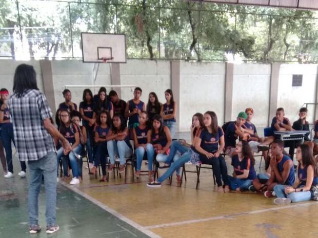 Alunos pretendem manter ocupação até a votação da PEC 55 (Foto: Célio Júnior/Arquivo Pessoal)