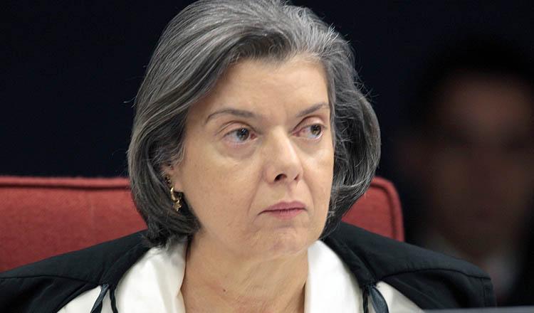 A presidente do Supremo Tribunal Federal, ministra Cármen Lúcia (foto: SCO STJ)