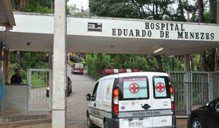 Paciente foi transferido da UPA Nordeste, onde foi atendido inicialmente, para o Hospital Eduardo de Menezes, referência em infectologia (foto: Jair Amaral/EM/D.A PRESS)