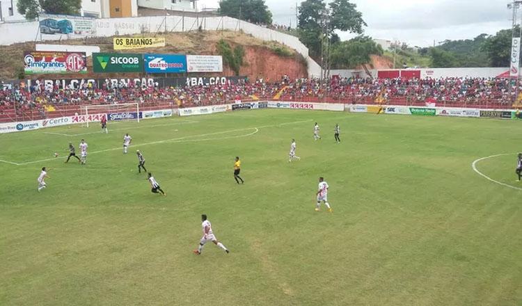 O América-TO jogou contra o Tupi pelo Campeonato Mineiro. Os times empataram em zero a zero (foto: Ana Carolina Magalhães/Inter TV)