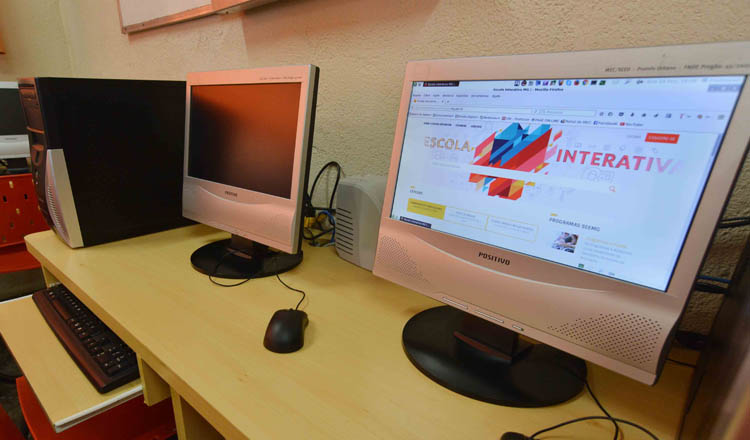 A nova plataforma promete revolucionar a educação em Minas Gerais (foto: Carlos Alberto / Imprensa MG)