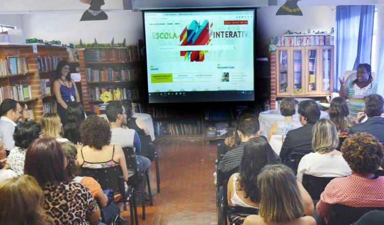 Apresentação do Educação Interativa em BH (foto: Carlos Alberto / Imprensa MG)