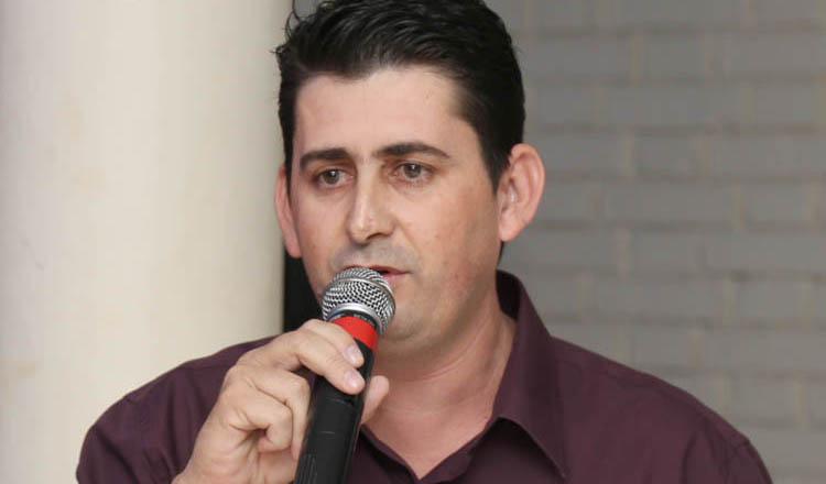 Vereador Melquisedeque Gomes, o Melquisedeque da Autoescola Líder (foto: SM Vídeo Produções)