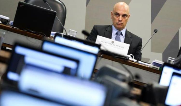 Alexandre de Moraes, indicado ao STF, passa por sabatina na CCJ do Senado (foto: Marcelo Camargo/Agência Brasil)