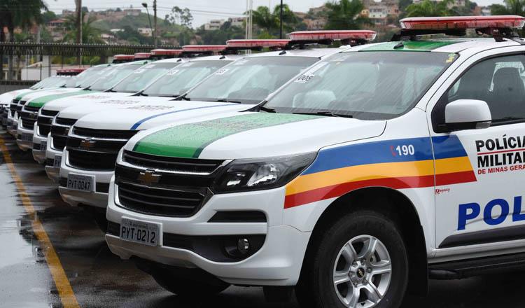 Mesmo sem a presença do governador Fernando Pimentel, foram entregues 30 ambulâncias às unidades da PM nas cidades de Teófilo Otoni, Campanário, Itambacuri, Malacacheta, Poté e Catuji (foto: Manoel Marques   Imprensa MG)