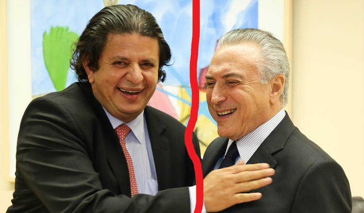 O deputado Fabinho Ramalho sempre se gabou da sua amizade com Michel Temer, que até o teria convidado para o PMDB. Agora eles estão de lados opostos numa batalha começada por causa da indicação do novo ministro da Justiça (foto: FLICKR)