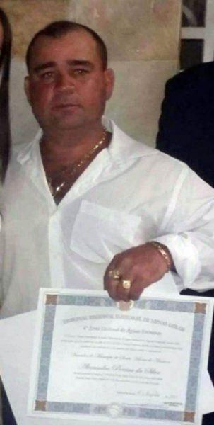 O vereador Alexandro Pereira da Silva, mais conhecido como Fi de Elsão (foto: Whatsapp | Reprodução)