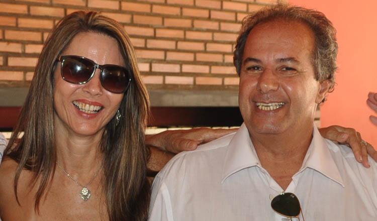 O presidente do PP de Teófilo Otoni, engenheiro Semir Rachid Said, ao lado da esposa, a enfermeira Claudia (crédito: Boy Fotógrafo)