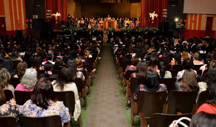 Todos os anos o Congresso de Mulheres lota o auditório do Cine Vitória, e em 2017 a expectativa é ainda maior do que nos anos anteriores (foto: Divulgação)