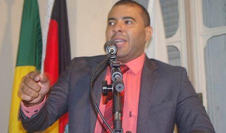 O vereador Filipe Costa (PSD) foi o autor do requerimento para a realização da audiência pública (crédito: Boy Fotógrafo)