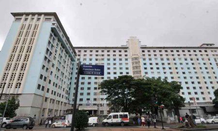 Santa Casa acumula R$ 40 milhões em dívidas e teme precisar cortar atendimentos em serviços mais complexos. Com 1.085 leitos, hospital é o maior do Brasil 100% SUS (Foto: Jair Amaral/EM/D.A PRESS)