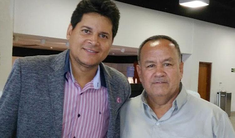 O autor do artigo, vereador Northon Neiva (dir), com o prefeito Daniel Sucupira, que acaba de comemorar os 100 dias do seu governo municipal (foto: Divulgação)