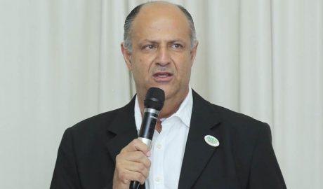 O presidente da ACE, Ricardo Bastos, abriu o encontro e assegurou um ano de muitas conquistas positivas para os associados da entidade (foto: Sérgio Martins | SM Vídeo Produções)