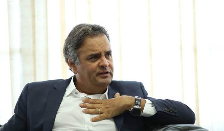 O presidente nacional do PSDB, senador Aécio Neves (MG) [Foto: Dida Sampaio/Estadão | Reprodução]