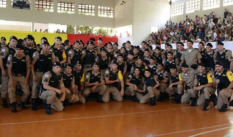 109 novos soldados foram formados para integrar a tropa da Polícia Militar em nossa região
