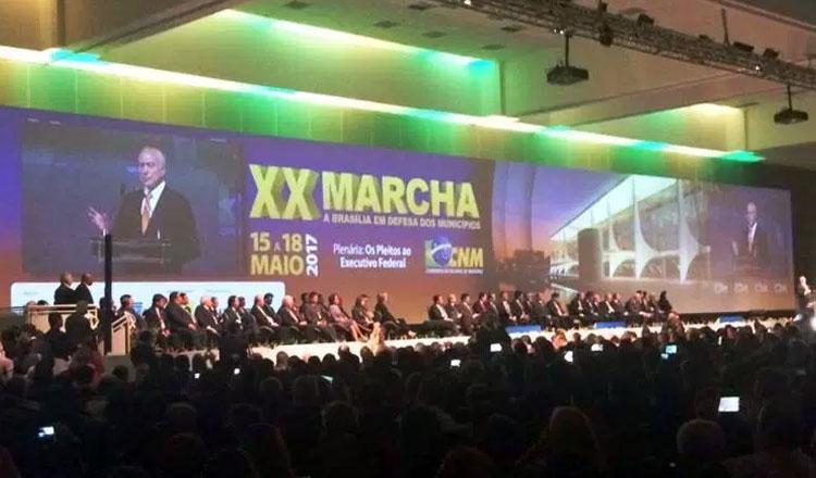 XX Marcha à Brasília (foto: DECOM AMM)
