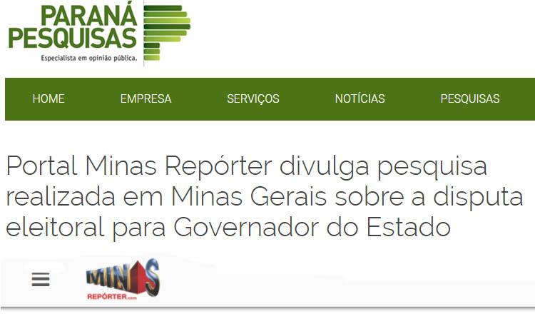 Paraná Pesquisas | Reprodução